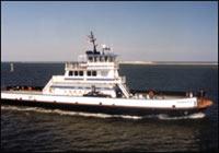 The Hatteras Class Ferry - Kinnakeet