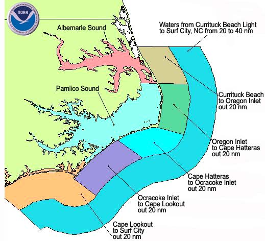 Nc offshore and inshore marine forecast for Nc saltwater fish