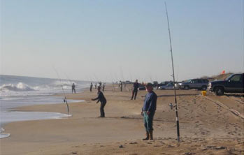 Surf Fishing in NC