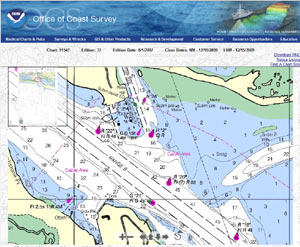 Online Charts of NC Coast and Outer Banks