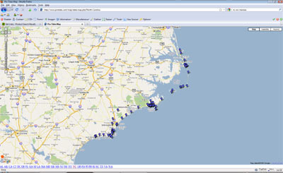Nc tides tidal forecasts at fishing nc com